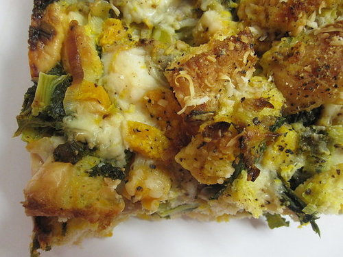 Sausage and Kale Thanksgiving Stuffing Recipe