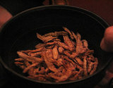 Deep-Fried Spiced Bamboo Worms