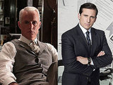 Roger Sterling = Michael Scott