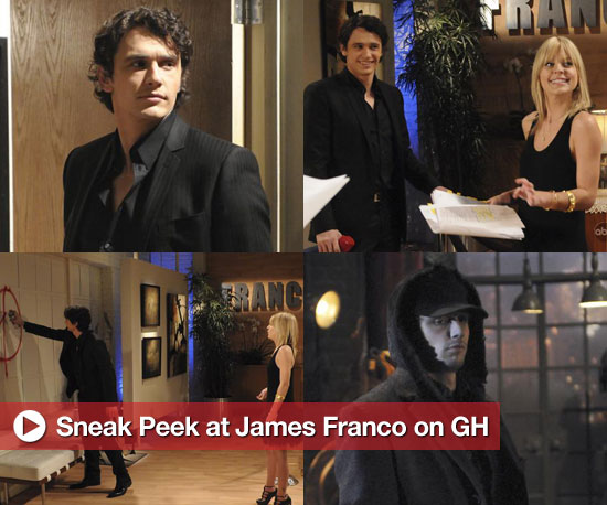 Sneak Peek at James Franco on General Hospital!