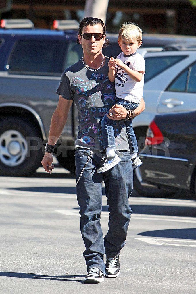 Photos of Gavin and Kingston