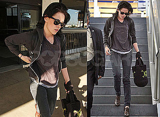 Photos of New Moon's Kristen Stewart at LAX