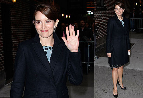 Photos of 30 Rock's Tina Fey on The Late Show