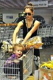 Photos of Jessica Alba and Honor at the Grocery Store