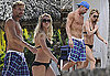Photos of Britney Spears in a Bikini With Jason Trawick And Sons