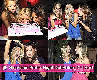 Stephanie Pratt's Night Out Before DUI Bust