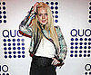 Photo Slide of Lindsay Lohan at The Opening of Quo in NYC