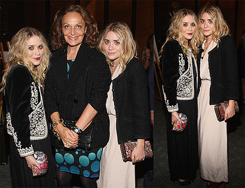 Photos of Mary-Kate and Ashley Olsen At CFDA Reception in NYC 2009-10-22 06:00:00
