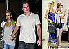 Photos of Paris Hilton Shopping With Nicky Hilton in LA; Eating With Doug Reinhardt