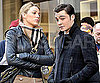 Slide Photo of Blake Lively and Ed Westwick Filming in NYC