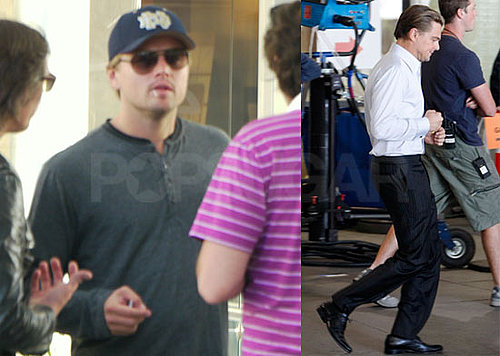 Photos of Leonardo DiCaprio Seeing a Movie in LA