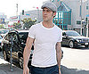 Slide Photo of Ryan Gosling Walking Around LA