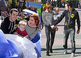 Photos of Ashlee Simpson, Pete Wentz and Bronx at Disneyland 2009-10-30 09:43:21