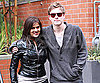 Slide Photo of Xavier Samuel Posing With Fan in Vancouver