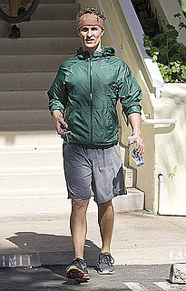 Photos of Matthew McConaughey Running in NYC 2009-10-30 14:00:03