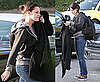 Photos of Kristen Stewart Arriving Home in LA After Wrapping Filming on Eclipse