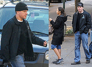 Photos of Matt Damon and Luciana Damon Getting Lunch in NYC