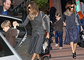 Photos of Sarah Jessica Parker and James Wilkie Going to the Airport 2009-10-20 02:00:00
