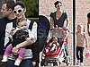Photos of Jennifer Garner, Violet Affleck, and Seraphina Affleck in Boston