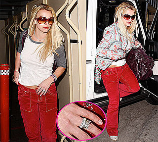 Photos of Britney Spears With A Ring on Her Ring Finger