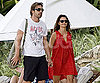 Slide Photo of Penelope Cruz and Javier Bardem Vacationing in Bali
