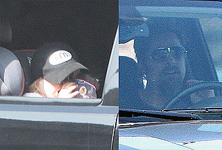 Photos of Brad Pitt Driving Shiloh and Zahara in LA