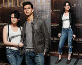 Photos of Kristen Stewart and Taylor Lautner in Mexico for New Moon 2009-11-03 14:58:18