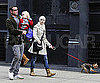 Photo Slide of Naomi Watts And Liev Schreiber Walking With Sasha in NYC
