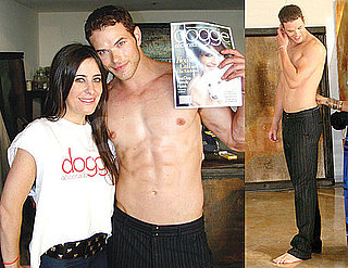 Photos of Kellan Lutz Behind the Scenes Photos From His Doggie Aficionado Magazine Shoot