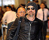 Slide Photo of Brad Pitt in Japan