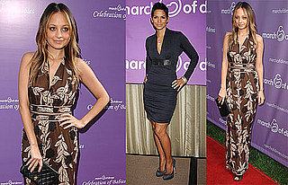 Photos of Nicole Richie and Halle Berry at a March of Dimes Event in LA 2009-11-09 04:00:00