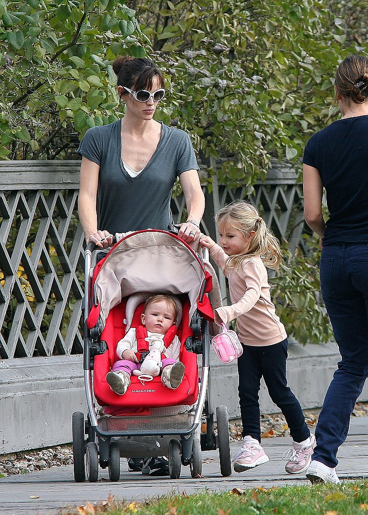 Photos of Jen, Violet and Serafina