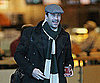 Slide Photo of Jon Hamm in Vancouver Grabbing Coffee