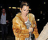 Slide Photo of Kate Moss Wearing Fur in London 2009-11-07 05:00:44