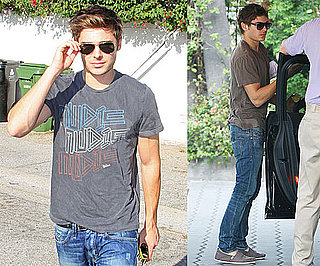 Photos of Zac Efron in LA