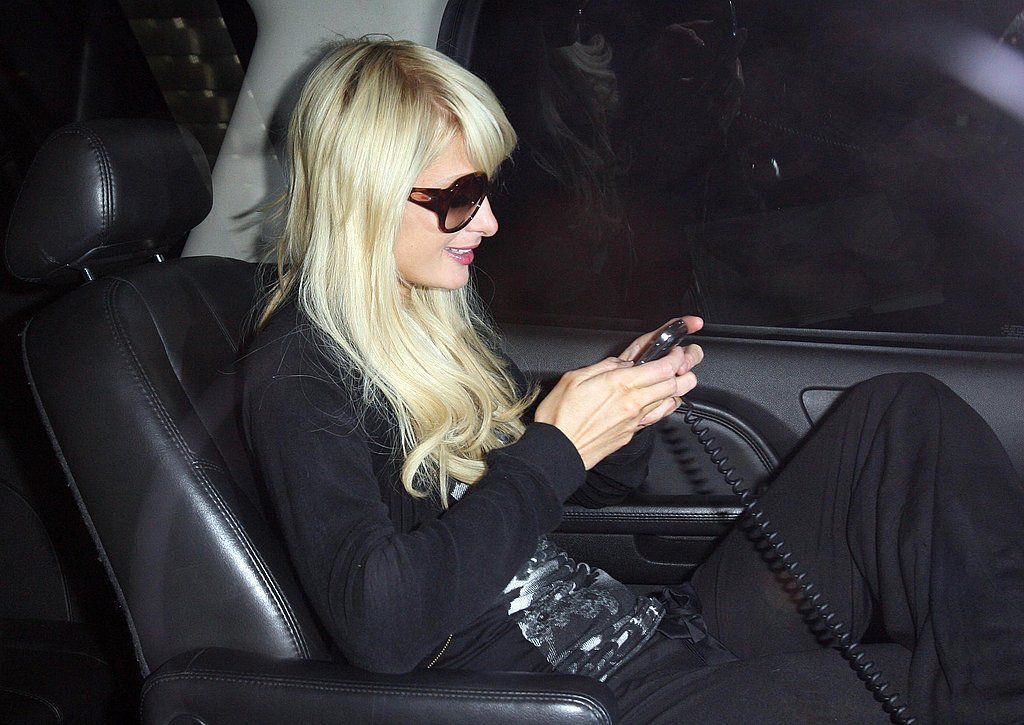 Photos of Paris Hilton at LAX