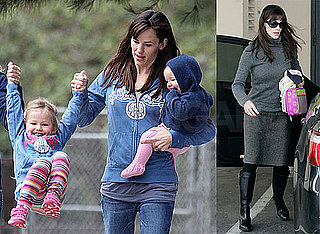 Photos of Jennifer Garner, Violet Affleck and Seraphina Affleck At the Park in LA