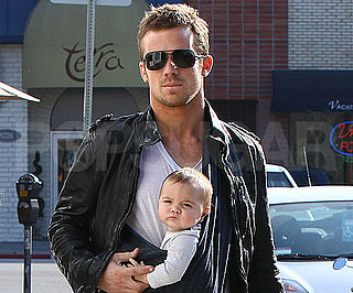 Slide Photo of Cam Gigandet and Everleigh Out to Lunch in LA