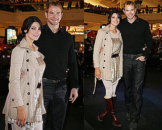 Photos of New Moon's Ashley Greene and Kellan Lutz at a Mall Stop in Chicago 2009-11-11 09:05:12