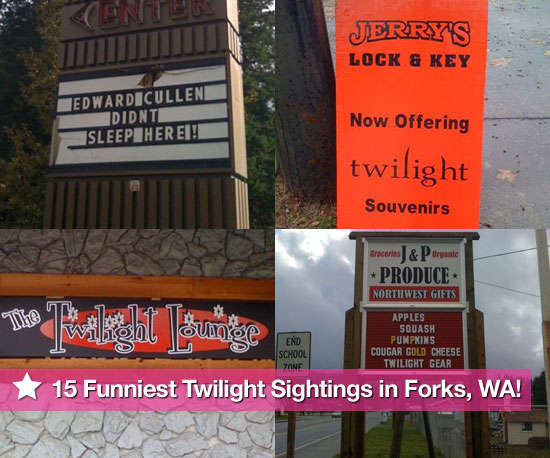 Photos of Twilight Mania in Forks, Washington
