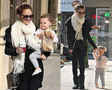 Photos of Nicole Richie and Harlow Madden in LA