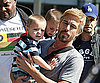 Slide Photo of Jason Trawick Carrying Britney Spears's Kids Jayden and Sean in Australia