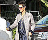 Slide Photo of Halle Berry Getting Her Car in LA