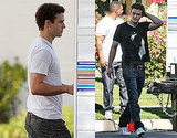 Photos of Justin Timberlake on the Set of The Social Network 2009-11-11 09:28:21