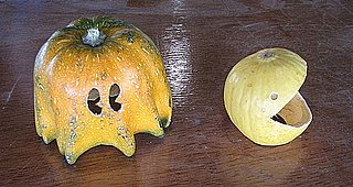 How to Make Your Own Pac-Man-Carved Pumpkins