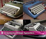 Beautiful Vintage Typewriter Photos