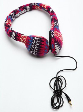 Urban Outfitters Knit Headphones