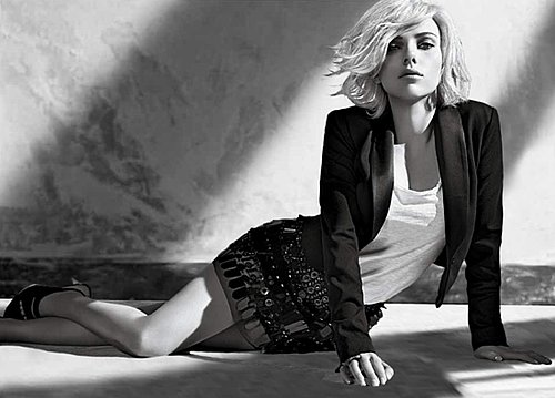 Photos of Mango's Latest 2009 Fall Ad Campaign Featuring Scarlett Johansson