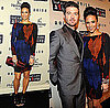 Paula Patton Attends Keep a Child Alive&#039;s 6th Annual Black Ball in Black, Brown, Red Proenza Schouler Dress