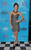 Jennifer Carpenter in an Awesome Beaded Dress